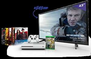 "Buy Sky TV and you get a Free 43"" 4k Ultra HD LG TV or Xbox One S with the Box Sets Bundle and Sky Q Multiscreen/Free 32"" LG TV or Lenovo Laptop with the Original Bundle"