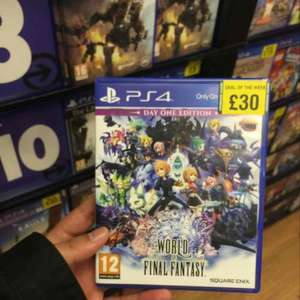 world of final fantasy day one edition (PS4) instore @ Grainger games metrocentre