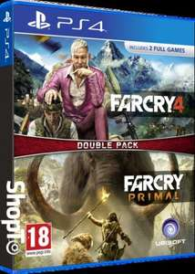 Far Cry 4 / Primal Double Pack (PS4/XO) £24.85 Delivered @ Shopto