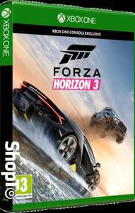 Forza Horizon 3 & Forza Jaguar F-TYPE Project 7 DLC (Xbox One) £26.86 / Doom (PS4/XO) £13.50 Delivered @ Shopto