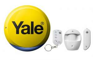 Yale Easy Fit Starter Alarm Kit | Wickes.co.uk £61.99