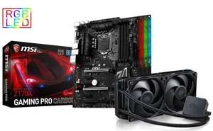 MSI Z170A Pro Carbon Gaming Motherboard + Cooler Master 240 V3 Water Cooler Bundle inc mafia 3 game £139.99 @ Box