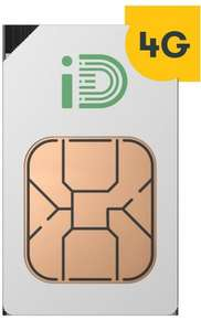 30-day 4G SIM only deal, 5GB of data, 500 minutes, 5000 texts, £10 per month @ iD