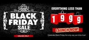 Unze London Black Friday Sale On - Everything under £19.99