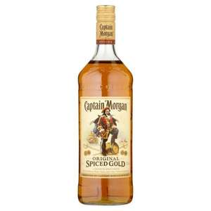 Captain Morgans Spiced 1 ltr £15 @ Morrisons