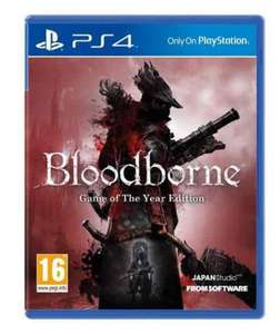 bloodborne game of the year edition (PS4) @ tesco direct