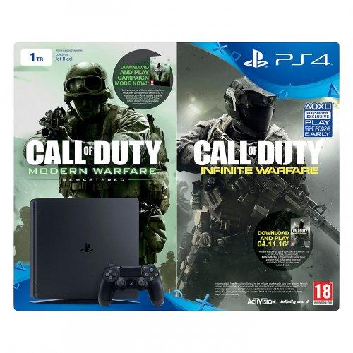 PS4 1TB Call Of Duty Infinite/ Modern Warfare Remastered Bundle £229.95 (2 yr warranty) @ John Lewis