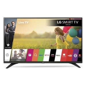 "LG 43LH604V 43"" Smart Built-In Wi-Fi Full HD 1080p LED TV in Black £299 @ Hughes"
