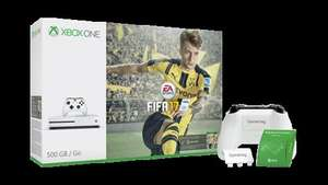 Xbox One S 500GB FIFA 17 OR Battlefield 1 with extra controller OR 500GB console with Forza Horizon 3 & Halo 5 @ Microsoft