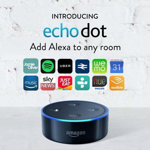 Amazon Echo Dot Black/White - £39.99 (£35 for new Prime Now users) - Amazon
