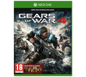 [Xbox One] Gears of War 4 - £21.99 - Argos / Amazon Price Match