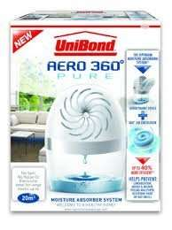 UniBond Aero-360 Pure Moisture Absorber Device £5.49 Amazon Prime