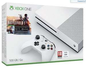 Xbox One S 500GB Battlefield 1 £229 @ Tesco direct