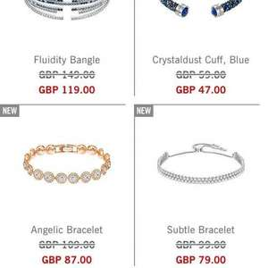20% off everything at Swarovski