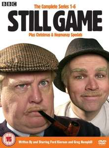 Still Game - The Complete Series 1-6 Plus Christmas and Hogmanay Specials [DVD] £12.79 (Prime) £15.78 @ Amazon