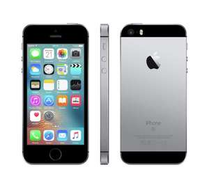Sim Free Apple iPhone 5SE 64GB Mobile Phone - Space Grey £379 @ ARGOS