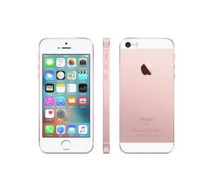 Sim Free Apple iPhone SE 64GB Mobile Phone - all colours reduced from £439 to £379 at Argos