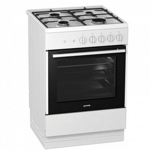Gorenje 60cm Gas Cooker G611E17WKA £99.99 @ Euronics (Save £230.00)