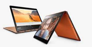 "Lenovo YOGA 900 Convertible Laptop, Intel Core i5, 8GB RAM, 256GB SSD, 13"" QHD+ Touch Screen - £699.95 @ John Lewis"