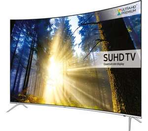 Samsung UE43KS7500 Curved SUHD HDR 1,000 4K Ultra HD Quantum Dot Smart TV £749