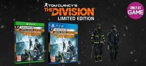 Tom Clancy's The Division Limited Edition - Only at GAME (PlayStation 4/Xbox one) - £19.99