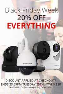 Foscam Black Friday deal - 20℅ off.