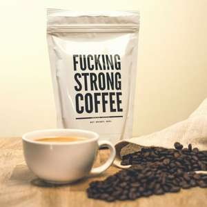 F@#$ing Strong Coffee