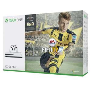 Xbox One S with Fifa 17 bundle plus extra controller  £229.95 @ John Lewis & 2 years guarantee