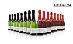 16 bottles of cava either brut, rose or mix was £163.86 now £59.99 (£3.75 a bottle) with free delivery @ Groupon