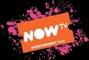 Now TV 3 month Entertainment Pass for £3.00