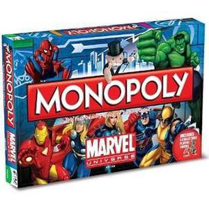 Forbidden Planet Marvel Universe Monopoly or Transformers Monopoly £12.00 EACH