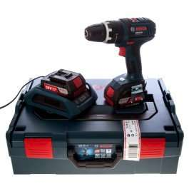 Bosch GSB 18VLI2W Combi Drill with 2x2Ah Batteries, Wireless Charger & L-BOXX (CNS Powertools - £102 delivered)