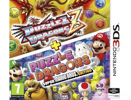 Nintendo Puzzle & Dragons Z + Puzzle & Dragons Super Mario Bros. Edition, Nintendo 3DS £7.99 @ Argos