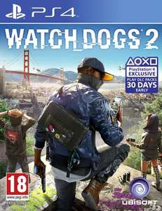 Watchdogs 2 - (PS4/XboxOne) Grainger Games £26.99 Used or £29.99 New