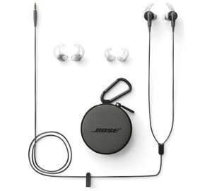 Bose SoundSport Audio Only In-Ear Headphones- Charcoal only £39.99.Can be just £29.99 with Quidco £10 deal(for orders over £50)