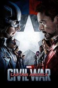 Captain America Civil War iTunes HD Rental