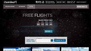 Free Flights Offer by Club Med!!