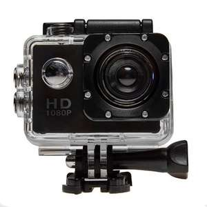 Top Tech HD Outdoor Action Cam (Black) - 1080p £24.99 @ Euro car parts