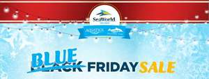 Blue Friday at seaworldparks.com