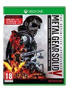 *Amazon Black Friday Deal* Metal Gear Solid V: The Definitive Experience - Xbox One & PS4 - £19.99 (Prime) £21.98 (Non Prime)
