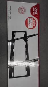 "Tilt led/lcd/plasma one for all...""32-84 "" 81 - 214cm in asda hounslow £8"