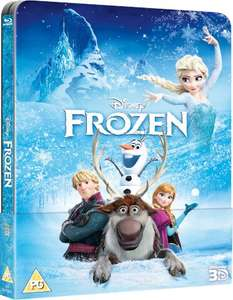 Frozen 3D (Includes 2D Version) - Zavvi Exclusive Lenticular Edition Steelbook (The Disney Collection #52) Blu-ray £24.99 Pre-Order @ Zavvi (release date 23rd December)