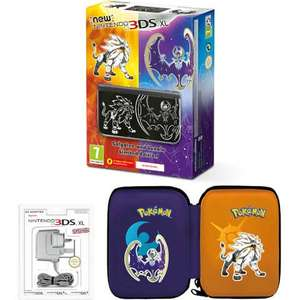 New Nintendo 3DS XL Solgaleo and Lunala Limited Edition with Charger and Pouch - £169.99 @ Nintendo Store (no software)
