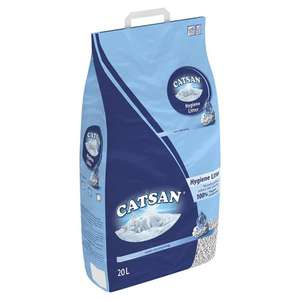 Catsan 20 litre Cat Litter £8 (or £6.80 with SnS and 4 other items) Amazon Prime Exclusive