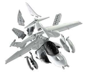 Airfix Quick Build Harrier, Spitfire, or McLaren P1 - £7.99 @ Very