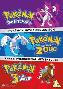Pokemon Movie 1-3 Collection £9.99 (Prime) £11.98 (non Prime) @Amazon Black Friday