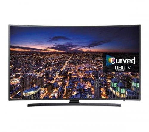 "Samsung curved 4K 55"" UE55JU6500KXXU TV - £859.64 @ Pixmania"