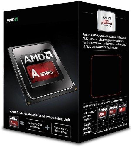 AMD APU A6-6400K (3.9GHz FM2) £31.93 @ Amazon