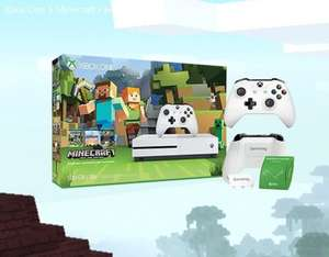Xbox one S 500gb - Minecraft - extra white controller £199.99  - Microsoft - potentially £169.99 (AMEX offer)