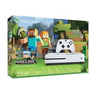 Xbox one s 500gb minecraft edition. £199.99 @ Smyths toys until 28th November